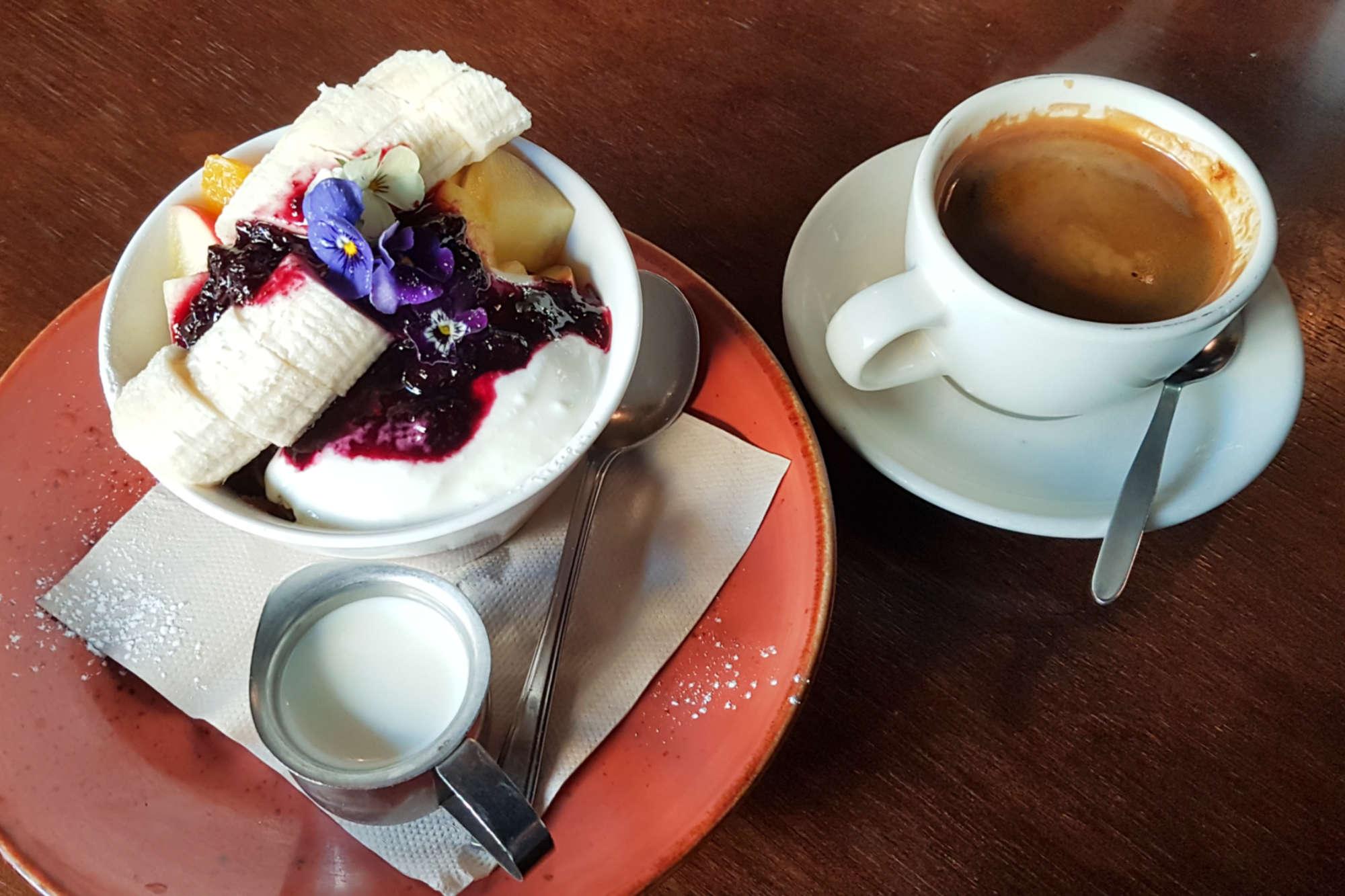 Enigma - coffee and muesli