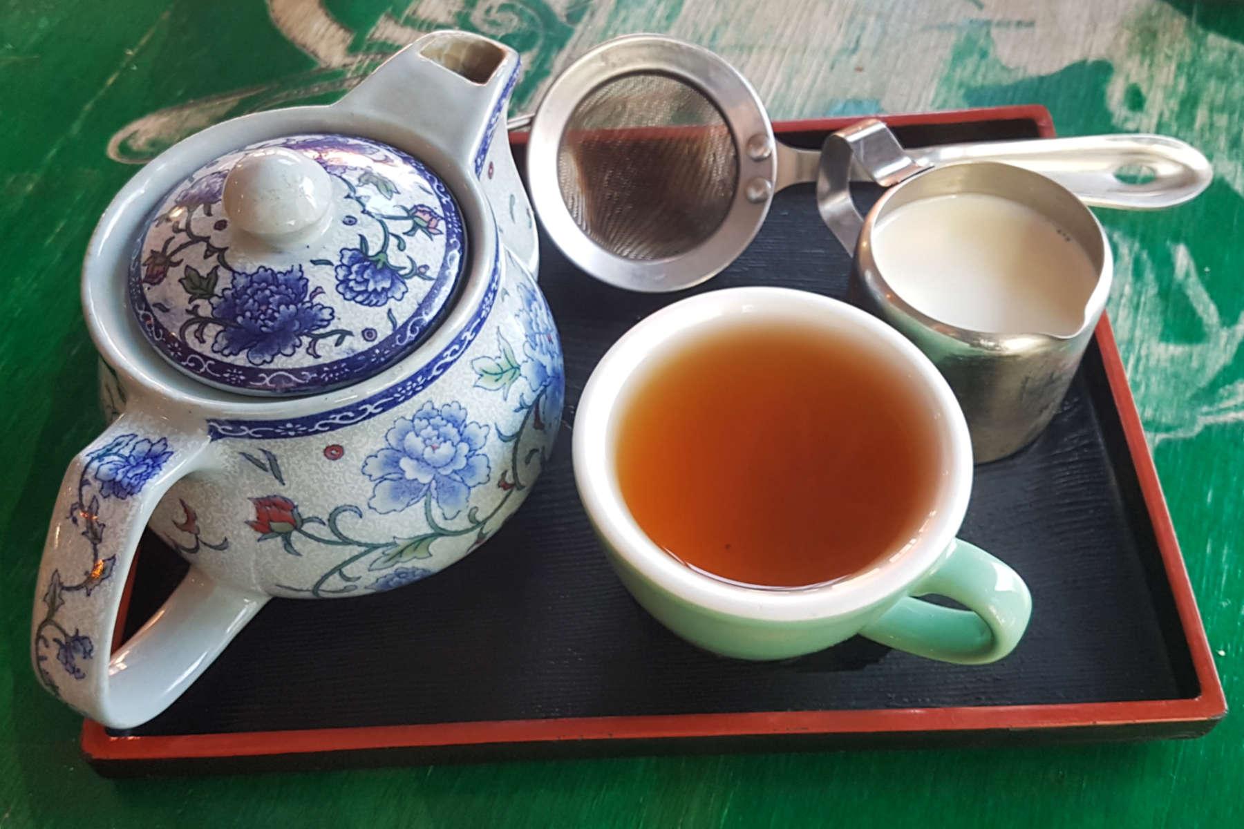 Gypsy kitchen tea