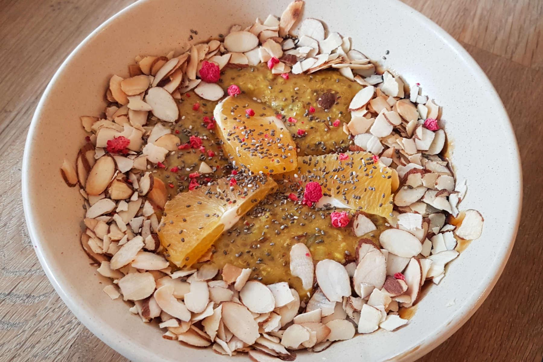 Neo - chai porridge
